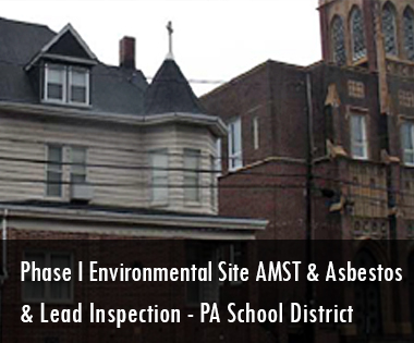 Phase I Environmental Site Assessment Asbestos and Lead Inspection Mahanoy Area School District